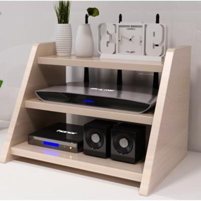 家用電視櫃機頂盒 置物架子 路由器 多功能收納盒 成人支架隔板擱板 收納架 儲物架 (4.9折)