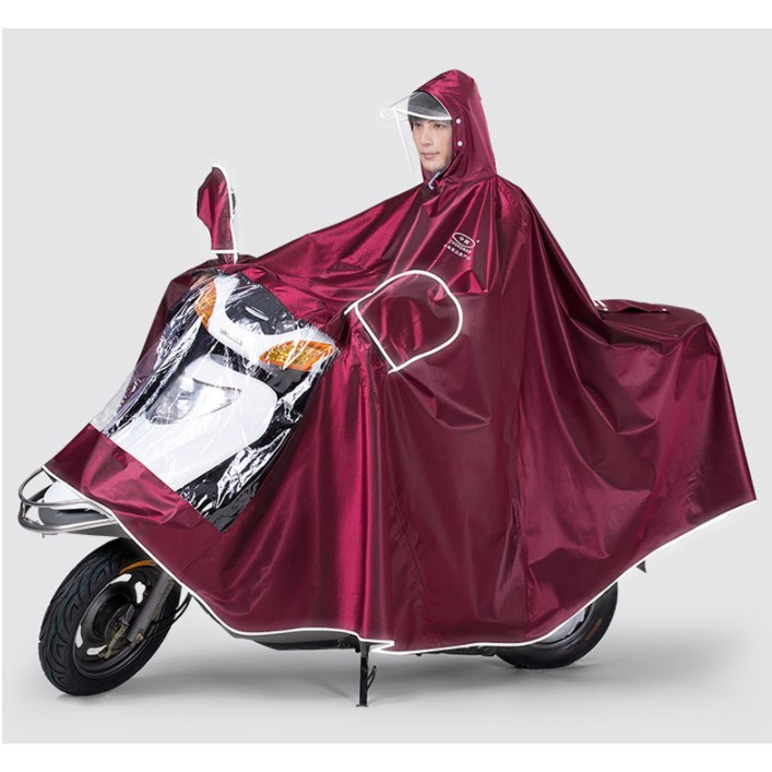 摩托電動電瓶車雨衣長款全身防水單人雙人加大加厚男女防暴雨雨披 - 5xl雙人顏色備註