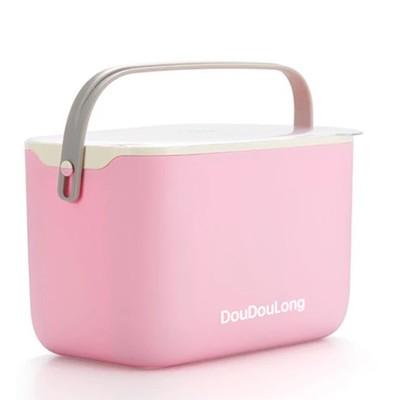 創意碗筷杯子收納箱寶寶用品收納盒便攜奶瓶櫃晾幹架帶提手 (5.4折)