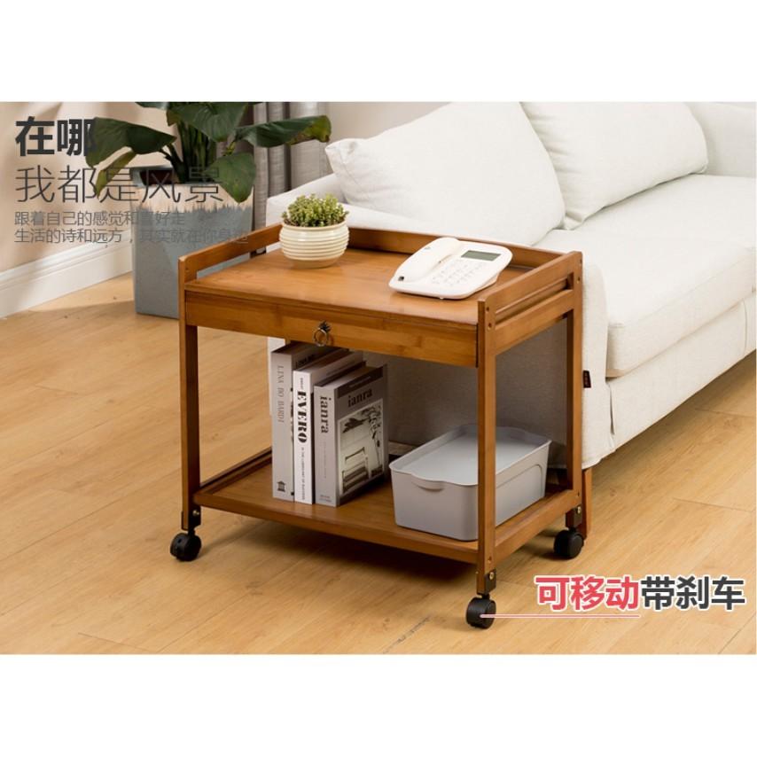 一件免運 可移動沙發邊櫃角幾小茶幾收納置物架客廳電話架茶水櫃床頭小桌子