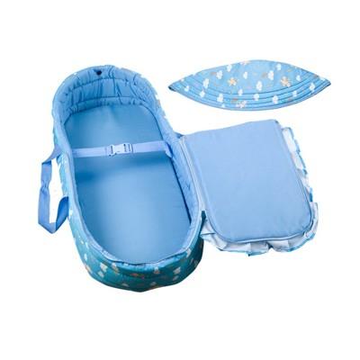 免運費 現貨 嬰兒床 嬰兒提籃便攜搖籃 睡籃車載新生嬰兒手提籃 嬰兒籃 寶寶搖籃床 (6折)