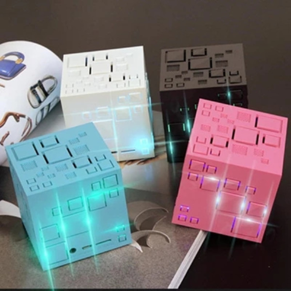 無線藍牙音響 桌面音箱 便攜 炫酷 4色任選