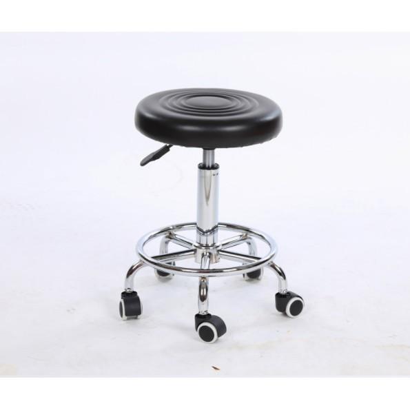 升降凳理發店凳子美容美發椅大工滑輪凳醫院車間實驗室凳子小圓凳