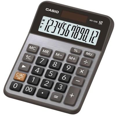 【CASIO】MX-120B 12位數 大型顯示幕 商用標準型 計算機 (10折)