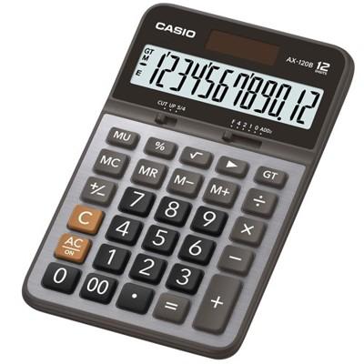 【CASIO】AX-120B 12位數 大型顯示幕 商用標準型 計算機 (10折)