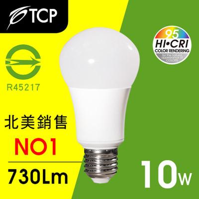 TCP RA95 LED燈泡10W黃光 (6.5折)