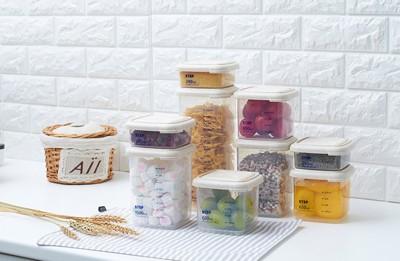 【百寶閣家庭 】1000ML 可堆疊廚房食物儲物保鮮密封罐