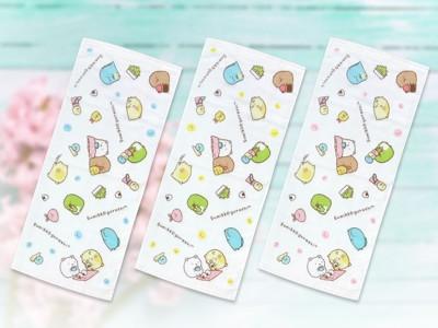 【角落生物】角落小夥伴可愛萬用紗布毛巾(三色一組) (1.1折)