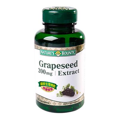 自然之寶葡萄籽菁萃膠囊食品200mg (3.3折)