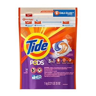 美國 Tide 汰漬 洗衣凝膠球3效合1 (5折)