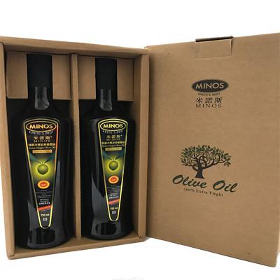 普羅旺斯夢工廠-希臘進口米諾斯橄欖油 冷壓橄欖油750ml/瓶*2 (4.8折)
