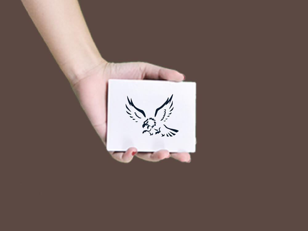 形紋身貼膜雄鷹25