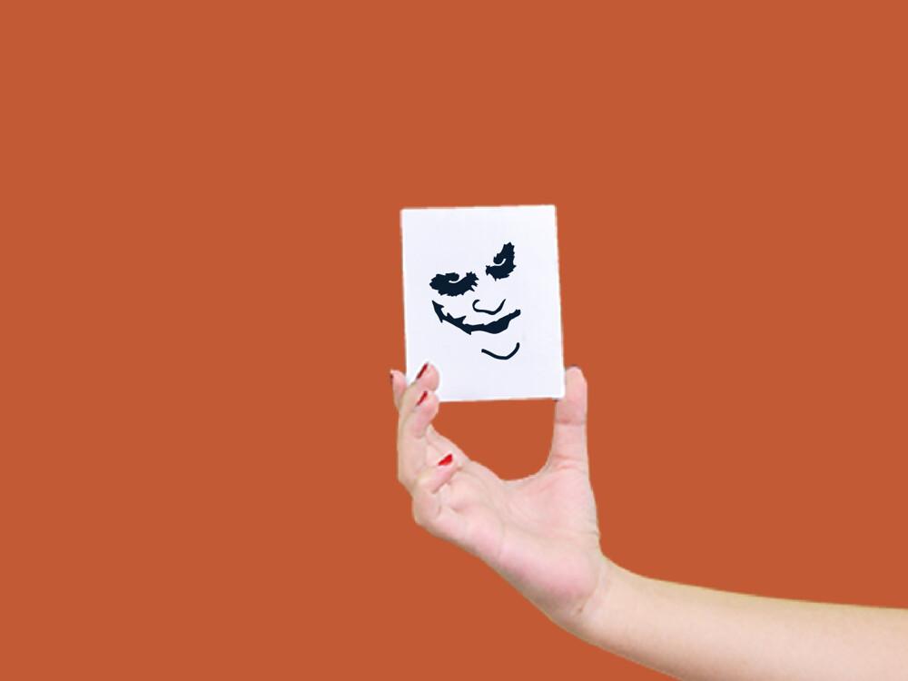 形紋身貼膜小丑5