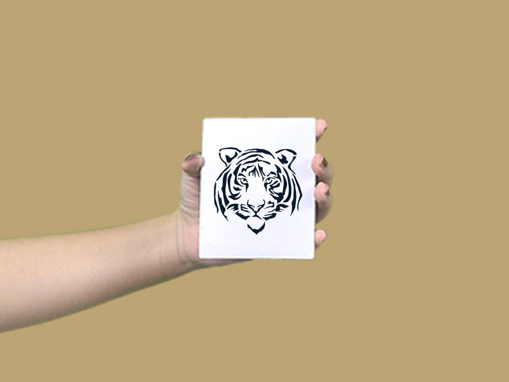 形紋身貼膜老虎52
