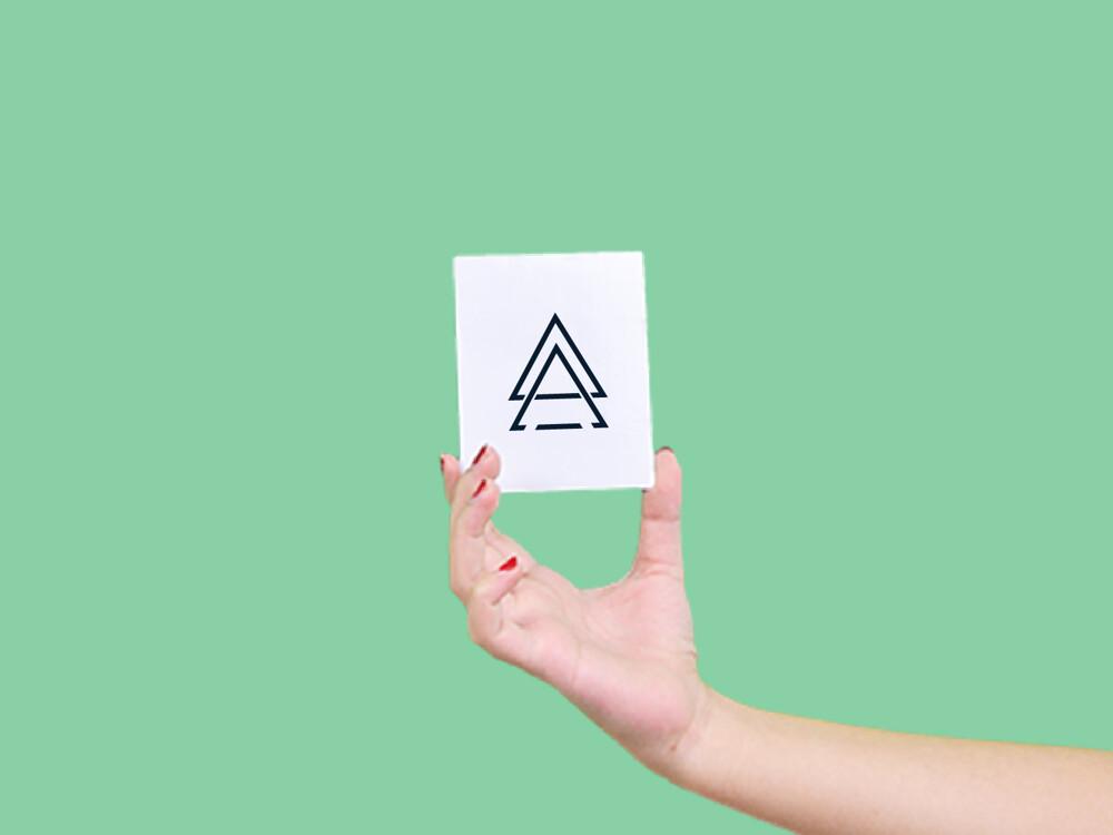 形紋身貼膜雙三角132