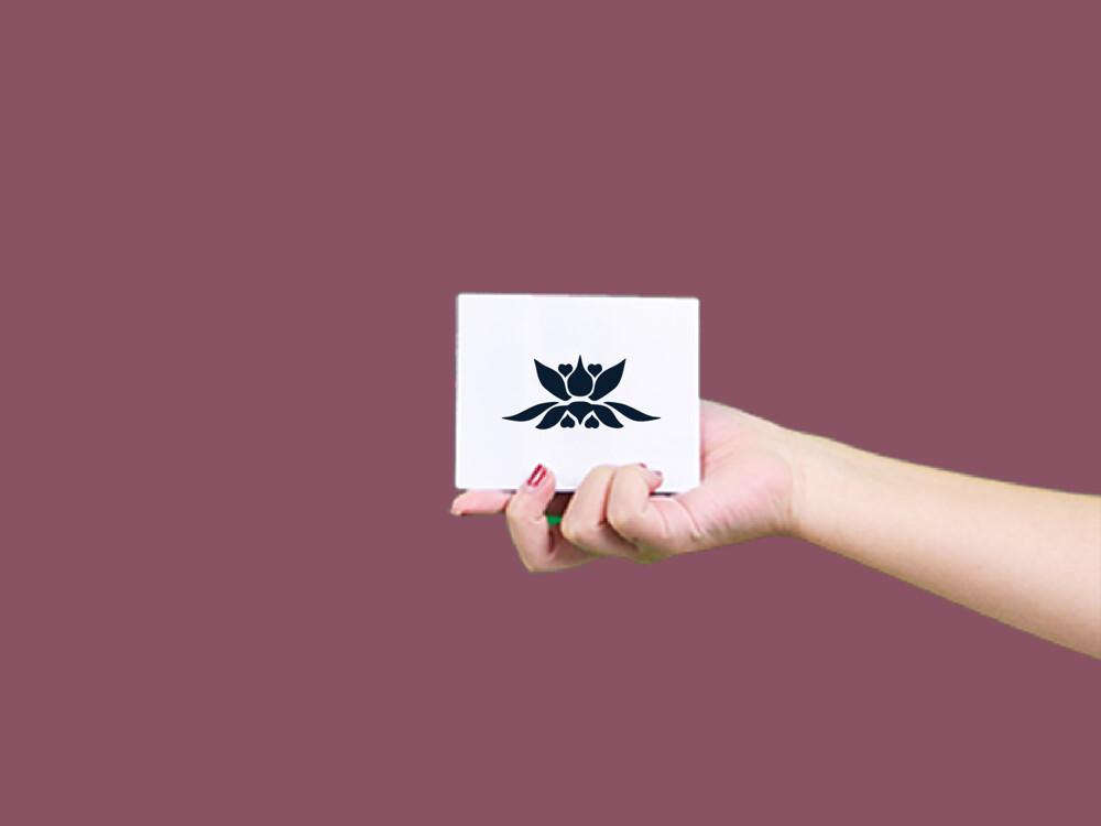 形紋身貼膜蓮花122