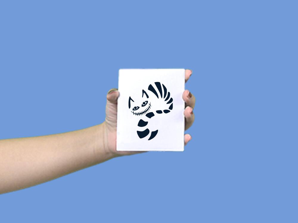 形紋身貼膜愛麗絲柴郡貓35