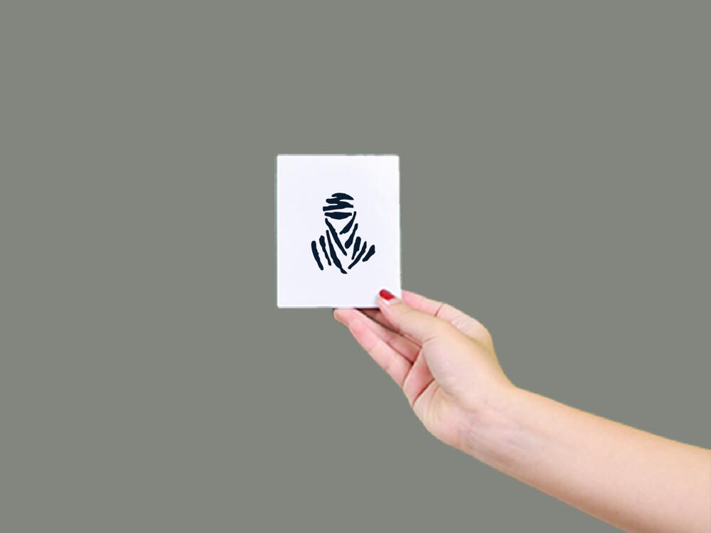 形紋身貼膜木乃伊49