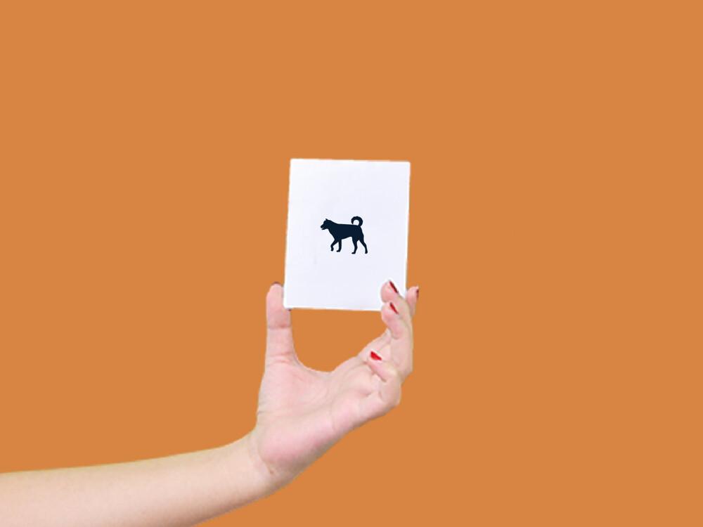 形紋身貼膜小柴犬141