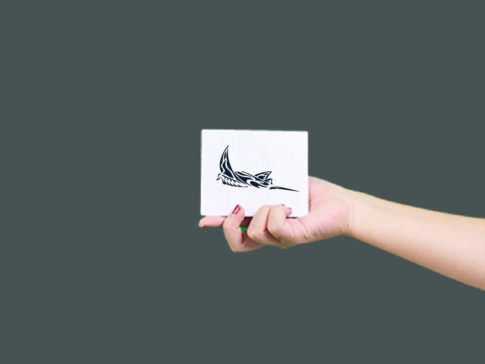 形紋身貼膜鬼蝠魟 331