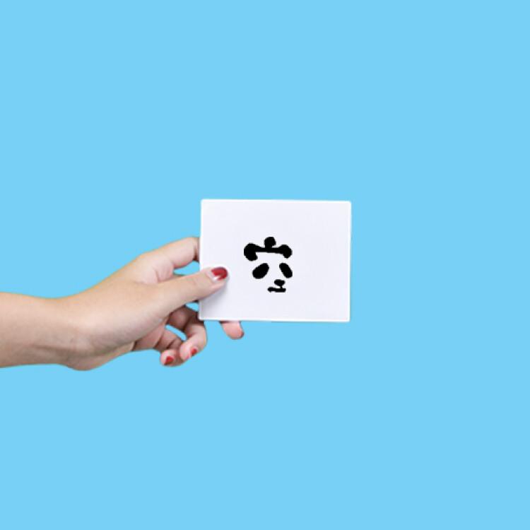 形紋身貼膜熊貓空空 378