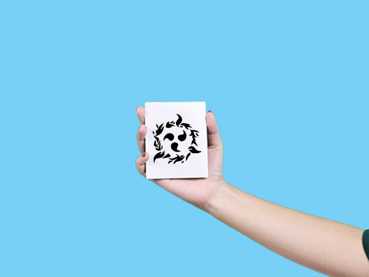 形紋身貼膜咒印 354