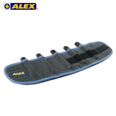 ALEX 第二代十格式加重綁腿-台灣製 加重器 調整式 健身 肌力訓練 藍 (10折)