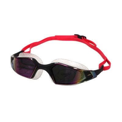 SPEEDO AQUAPULSE PRO 成人運動泳鏡-鏡面-蛙鏡 游泳 競技 黑紫 (8.9折)