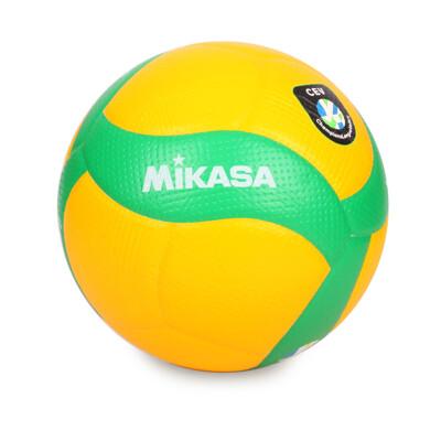 MIKASA 歐冠專用比賽用排球#5-5號球 CEV指定球 黃綠 (8.4折)