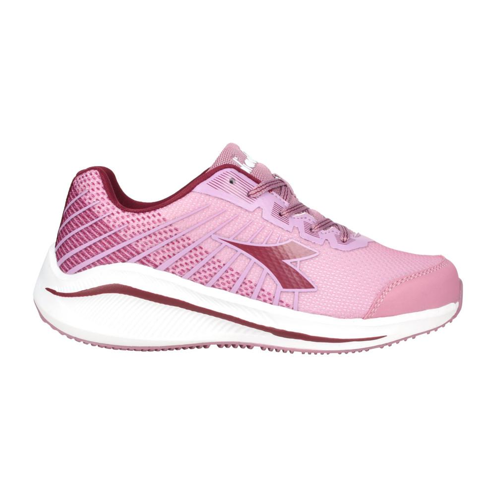 diadora 女專業輕量慢跑鞋-路跑 運動 藕粉深紫