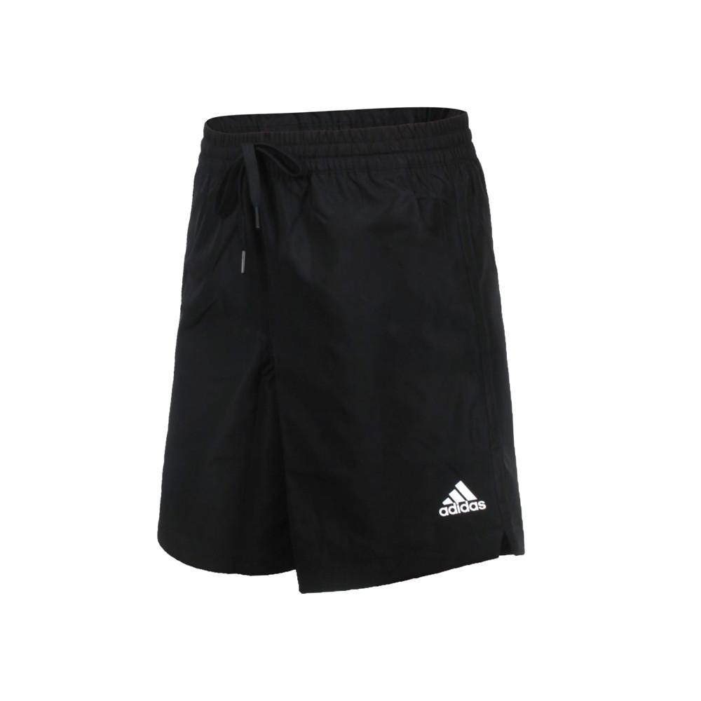 adidas 女運動短褲-亞規 吸濕排汗 慢跑 路跑 五分褲 平織 愛迪達 黑白