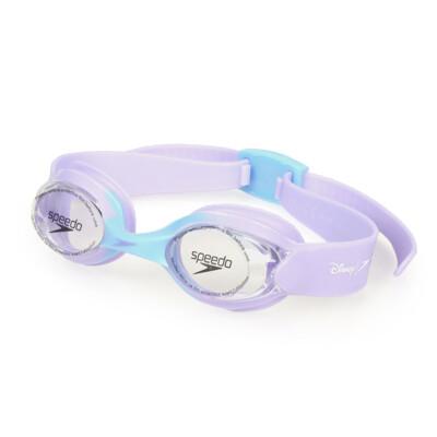 SPEEDO 幼童運動泳鏡-冰雪奇緣-游泳 蛙鏡 抗UV 兒童 粉紫 (10折)