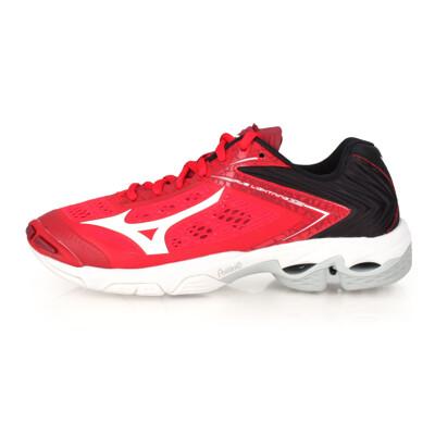 MIZUNO WAVE LIGHTNING Z5 限量款-男女排球鞋 紅黑白 (8.4折)