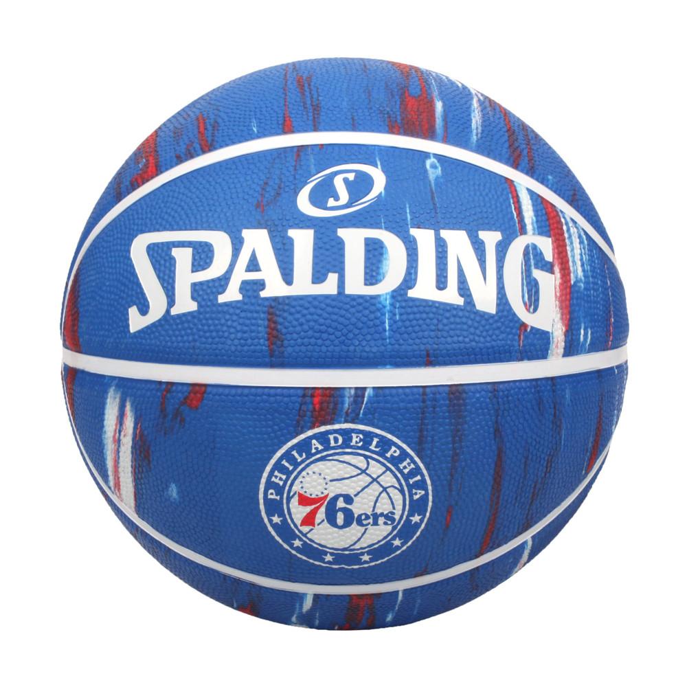 spalding nba隊徽-76人 #7籃球-室外 7號球 運動 斯伯丁 藍紅白