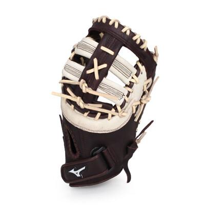 MIZUNO 棒球一壘手手套-右投  棒球 壘球 美津濃 深咖啡棕 (8.4折)