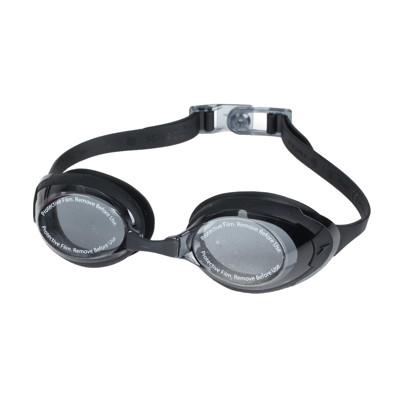 SPEEDO 成人運動泳鏡-日製 游泳 海邊 蛙鏡 抗UV 防霧 訓練 黑 (9折)