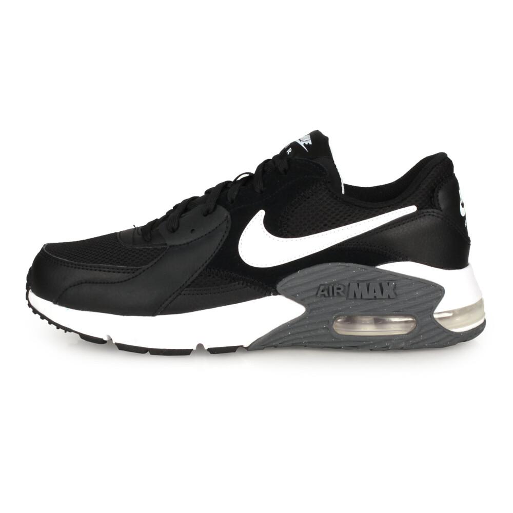 nike air max excee 男休閒運動鞋-慢跑 氣墊 黑白