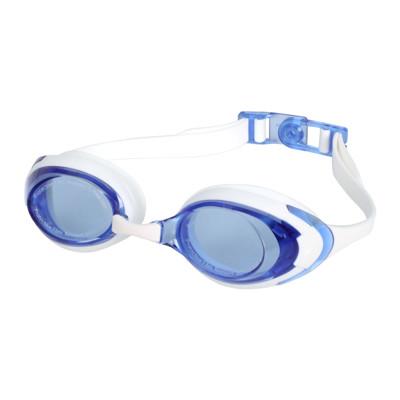 SPEEDO 成人運動泳鏡-抗UV 防霧 蛙鏡 游泳 戲水 日製 白藍 (9折)