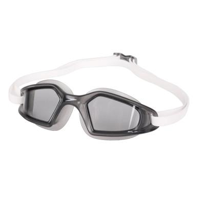 SPEEDO 成人運動泳鏡-抗UV 防霧 蛙鏡 游泳 訓練 深灰白 (9.6折)
