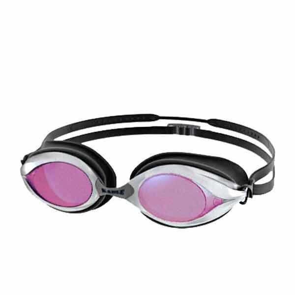 sable 競速型3d極致鍍膜鏡片泳鏡-游泳 防霧 防眩光 紅