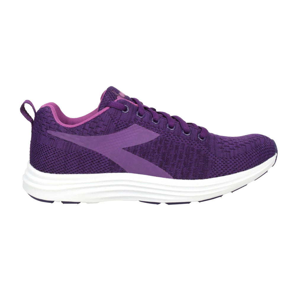 diadora 女進口慢跑鞋-路跑 避震 耐磨 運動 深紫