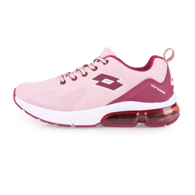 LOTTO 女氣墊慢跑鞋-路跑 粉紅紫 (8.9折)