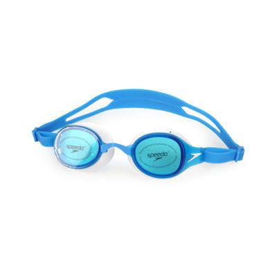 SPEEDO 成人運動泳鏡-訓練 游泳 海邊 蛙鏡 藍白 (9.4折)