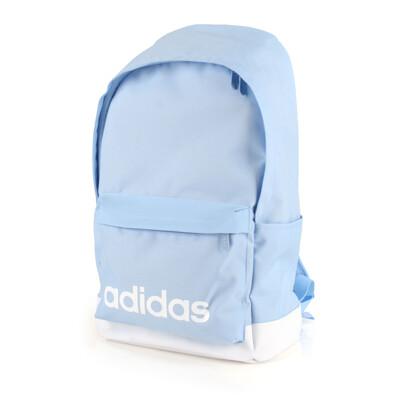 ADIDAS 大後背包-後背包 雙肩包 肩背包 愛迪達 粉藍白 (9折)