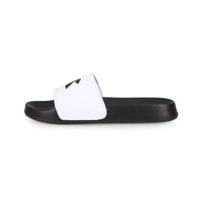 DIADORA 女運動拖鞋-沙灘 海邊 戲水 游泳 黑白 (10折)