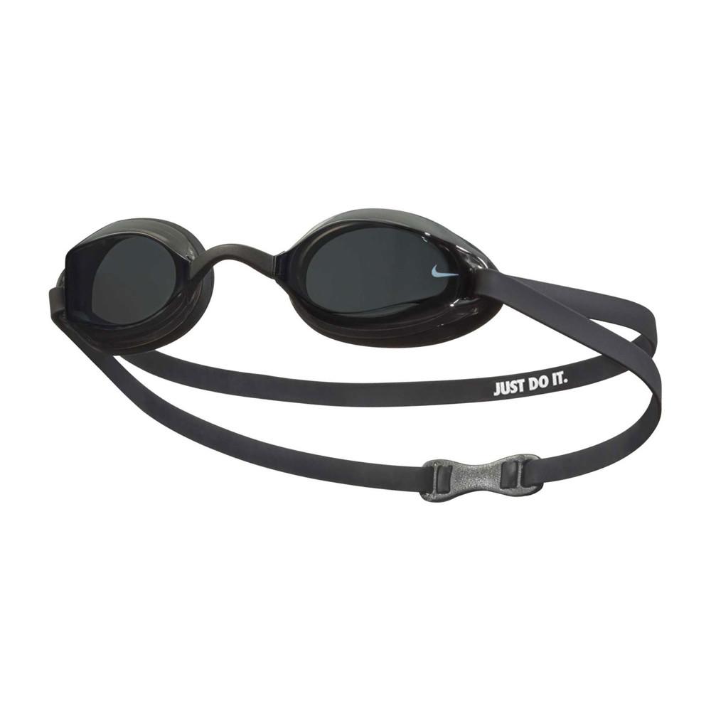 nike swim 成人專業型泳鏡-抗uv 防霧 蛙鏡 游泳 戲水 海邊 黑白