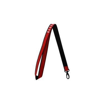 NIKE JORDAN 反光識別證帶-吊帶 掛袋 鑰匙圈 配件 飛人喬丹 紅白 (10折)