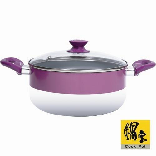 鍋寶 經典彩色24cm湯鍋 (fc-2400)