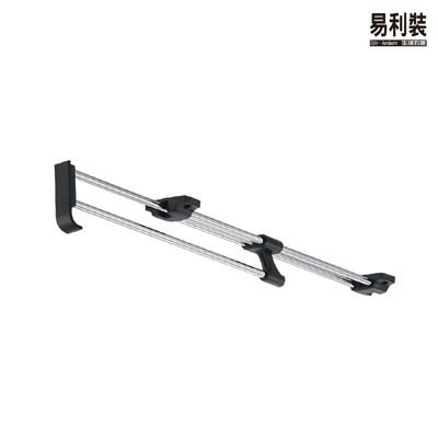 L07B 試衣架(30cm) 懸吊掛衣架 伸縮式掛衣架 掛衣桿架 活動衣桿架 頂裝衣桿 (5.7折)