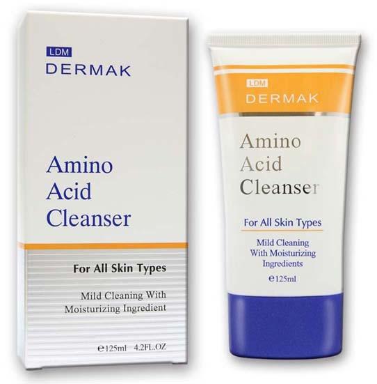 dermak 胺基酸保濕洗面乳125ml 2019新包裝